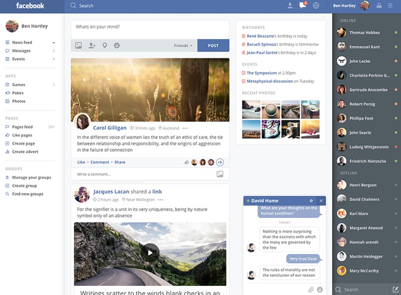 Facebook Redesigned: An In-Depth Analysis Of Independent